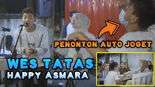 WES TATAS - HAPPY ASMARA (COVER) BY TRI SUAKA FEAT ELFARIZIE