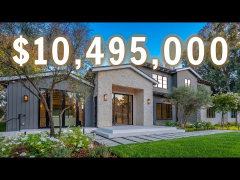 Touring a $10,495,900 MANSION with an UNDERGROUND MOVIE THEATER | Los Angeles Mansion Tour
