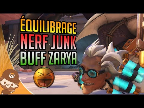 PTR: Nerf JUNKRAT / Buff ZARYA / Changements BAPTISTE & Skins OWL - Overwatch FR thumbnail