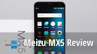 Meizu MX5 Review(Chinese smartphone manufacturer Meizu had a strong flagship last year with the MX4. Now, here's our Meizu MX5 review, where we see if the company is to ..., 2015-09-24T08:52:56.000Z)