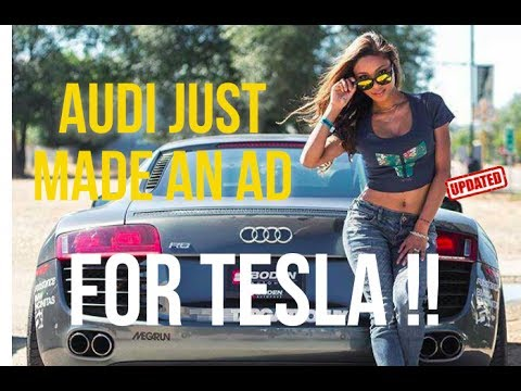 Audi Made an Ad for Tesla...not Smart [updated]