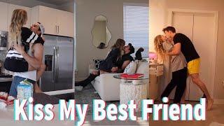 Today I Tried Kiss My Best Friend TikTok Compilation 2021