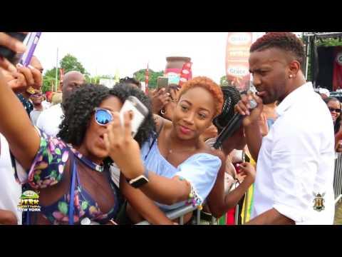 Grace Jamaican Jerk Fest 2017 NYC Konshens, Alison Hinds, Barrington Levy, Morgan Heritag