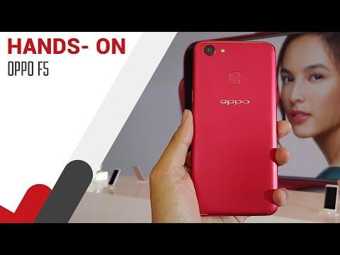Hands On OPPO F5 - Lebih Wah dari TV Sebelah?