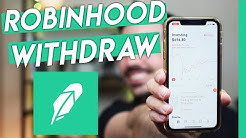 How To Withdraw Money From Robinhood