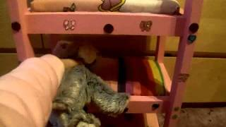Webkinz Triple Bunk-bed.