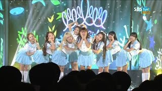 【HD繁體中字】 160809  OH MY GIRL - A-ing  @ MTV THE SHOW