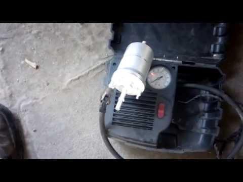 Замена топливного фильтра Шкода Октавия А5 Skoda Octavia A5