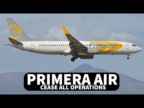 PRIMERA AIR Cease all OPERATIONS