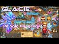 Maxed Glacie Action Deal 800k Damage! Maxed Hp Michael Gameplay - Castle Clash