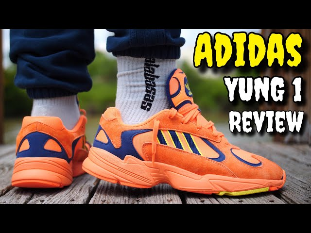 new style 36ad0 f888f ADIDAS YUNG 1 REVIEW   ON FEET! WATCH BEFORE YOU BUY! - YouTube