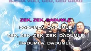 Gagi band i Dzej  Zek zek dadumle -Karaoke