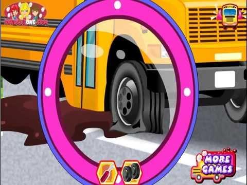 игра автобус мыть