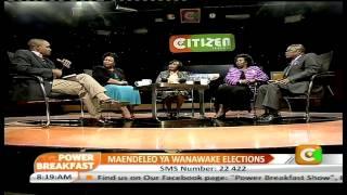 Power Breakfast Interview: Maendeleo Ya Wanawake Elections