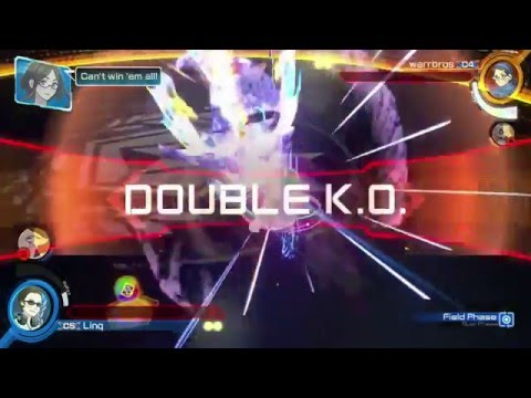 Pokkén Tournament Double KO + Draw/Tie Screen