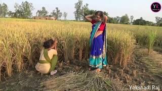 Comedy Video    धान के खेत मे हुआ गड़बड़ी    Shivani Singh & Akhilesh Raj Bhojpuriya, thumbnail