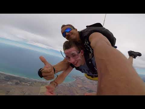 Eden Cooper at Coastal Skydive