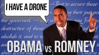 Barack Obama vs Mitt Romney [RAP NEWS 16]