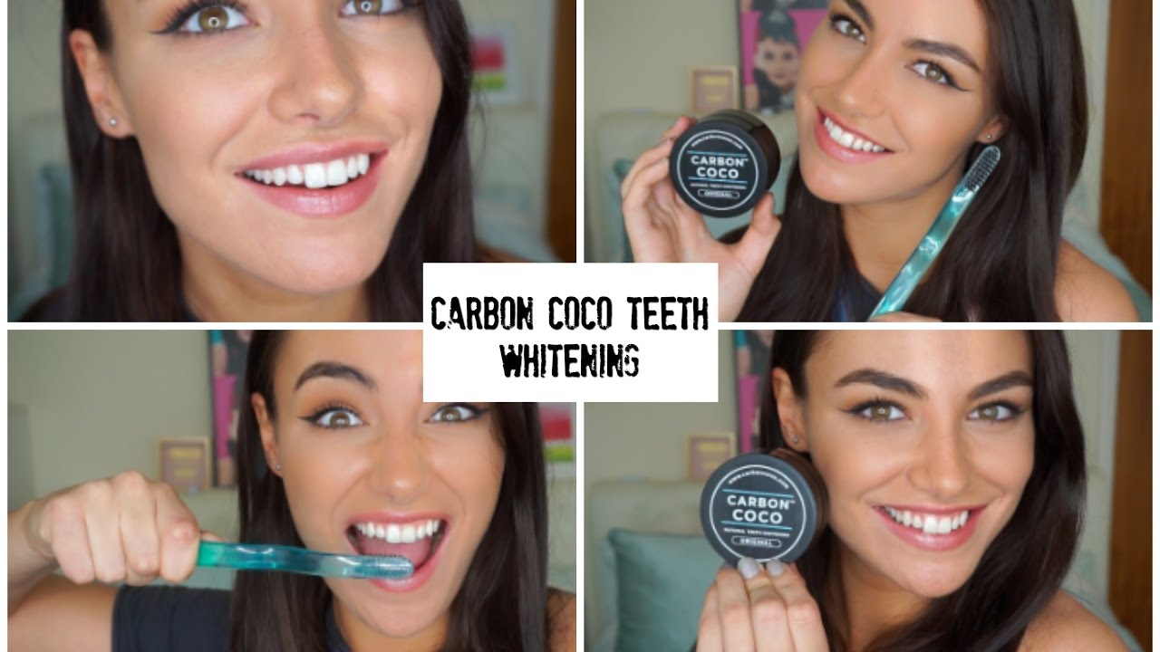 carbon co co activated charcoal teeth whitening powder youtube. Black Bedroom Furniture Sets. Home Design Ideas