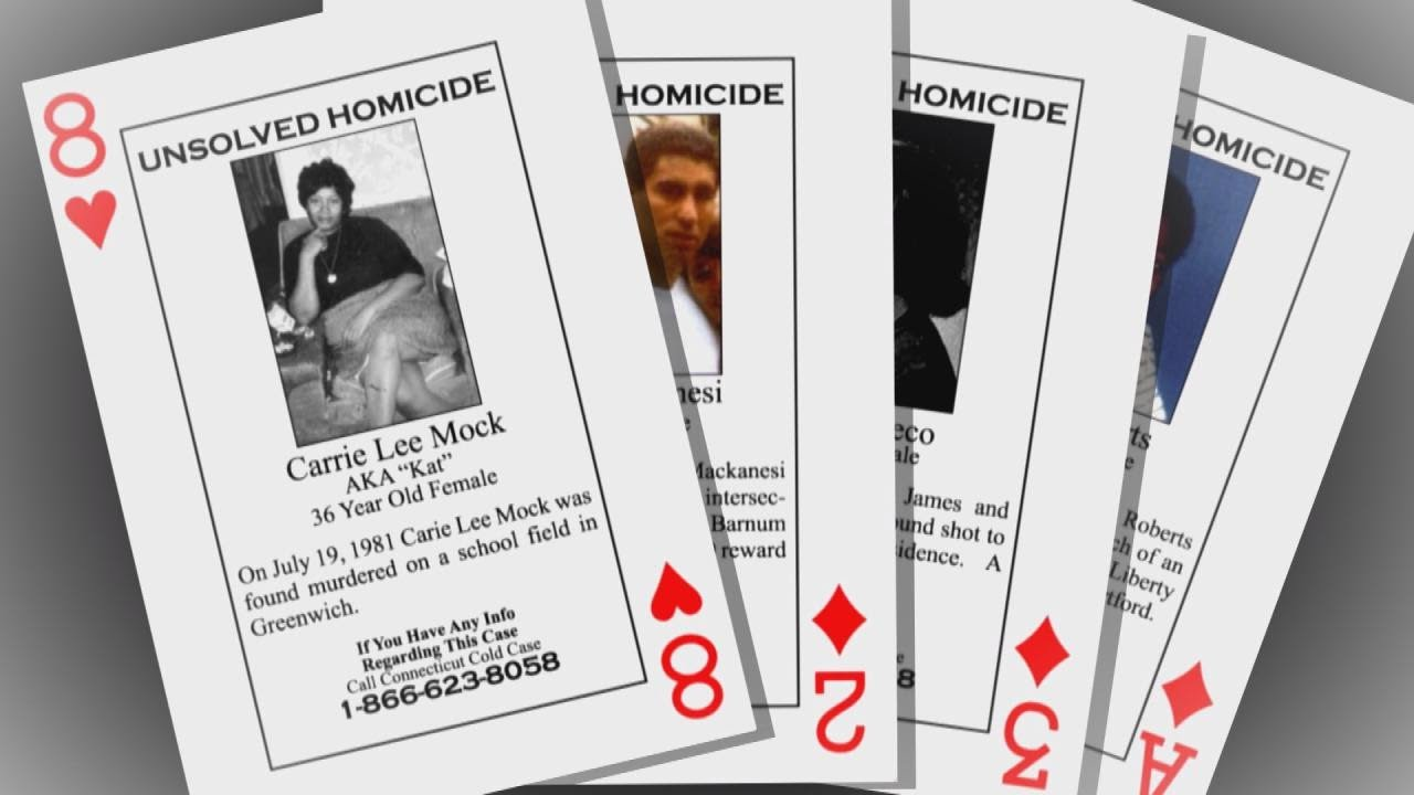 Inmates Buy Playing Cards Featuring Cold Case Murders (Multi-Video