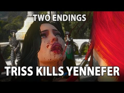 TRISS KILLS YEN! - Witcher 3 Characters - Part 5 *MODS* *spoilers*