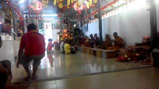 Kathina Day Chanting. An Innovative Beat, Wat Siam Bkt Berapit, November 01, 2015