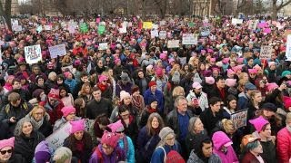 What has changed in the year since the 2017 Women's March?