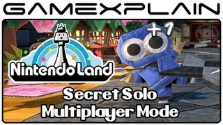 Nintendo Land - Secret Multiplayer Mode in Single-Player (Solo Attractions)