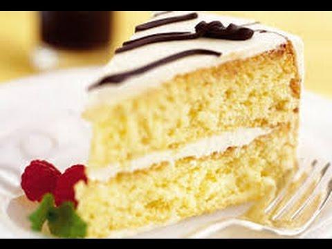 простой бисквитный торт рецепт видео