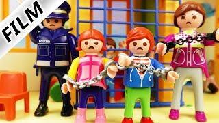 Playmobil Film Deutsch GANZE KITA VERHAFTET! FALSCHER POLIZIST NIMMT KINDER FEST Familie Vogel