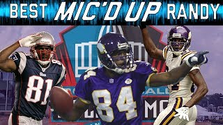 Randy Moss Best Mic'd Up Moments | Sound FX | NFL Films