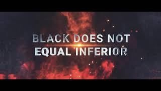 Black Does Not Equal Inferior Book Trailer - Official Release Date 01.01.2021