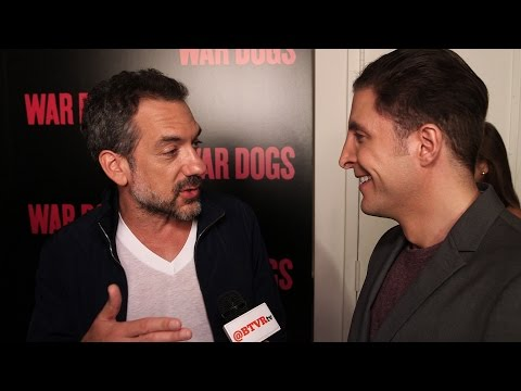 "Todd Phillips at the ""War Dogs"" Premiere Behind The Velvet Rope with Arthur Kade"