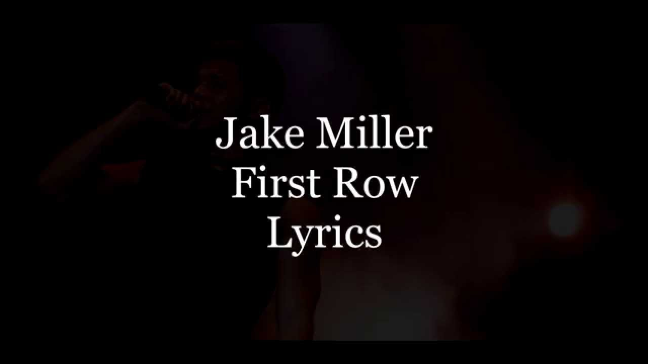 jake miller song lyrics - photo #8
