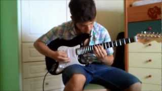 Iced Earth- Burning Oasis(Guitar Cover)