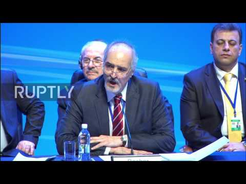 Kazakhstan: Damascus will do 'whatever it takes' to rescue Syria - Jaafari