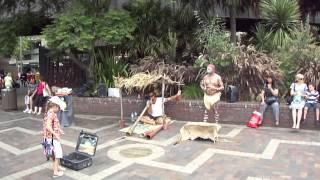 Росперсонал об Австралии - аборигены на Sydney Harbour(, 2012-05-12T08:28:08.000Z)