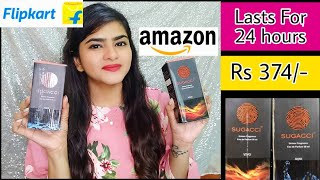 Perfume that lasts for 24 Hours | Unisex Perfumes | 🌹 SUGACCI PERUMES RS 374/-🌹| Flipkart | Amazon