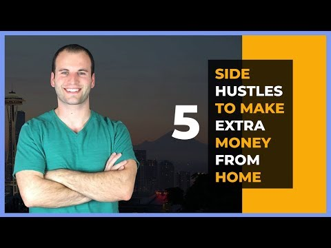 5 Side Hustles To Make Extra Money Working From Home