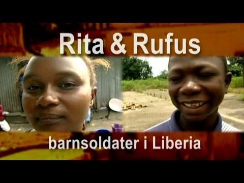 Rita och Rufus - barnsoldater i Liberia - Malou efter tio (TV4)