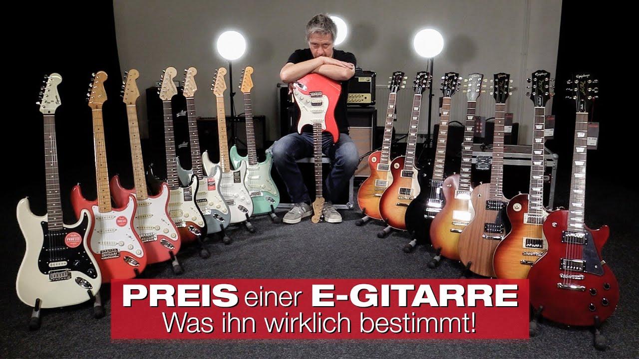 Was bestimmt den Preis einer E-Gitarre? Olli's Starthilfe