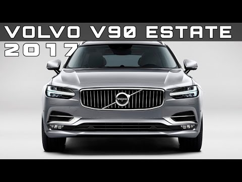 2017 Volvo V90 Estate Review Rendered Price Specs Release Date