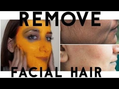 BEAUTY HACKS! BEAUTY SECRET HOW TO REMOVE FACIAL HAIR NATURALLY AND PERMANENTLY AT HOME IN 5 MINUTE