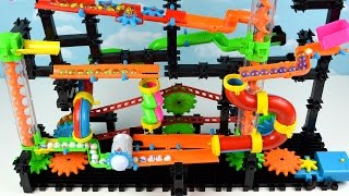 Marble Mania Maze Run Race Wacky Trax Children Toddler Learning Video for Kids Teach Colors Toy Fun