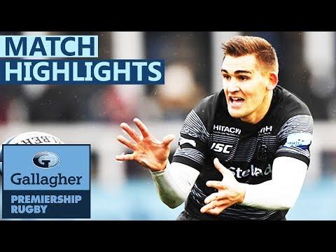 Newcastle 17-6 Worcester | Flood Stars In Relegation Battle | Gallagher Premiership - Highlights