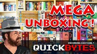 Big Box PC Games Mega Unboxing - QuickBYTES