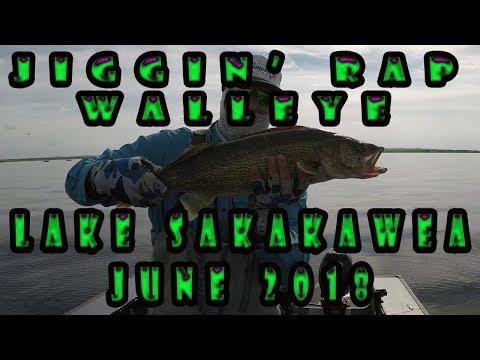 Jiggin' Rap & Crankin' Walleye: West Sakakawea(June 2018)