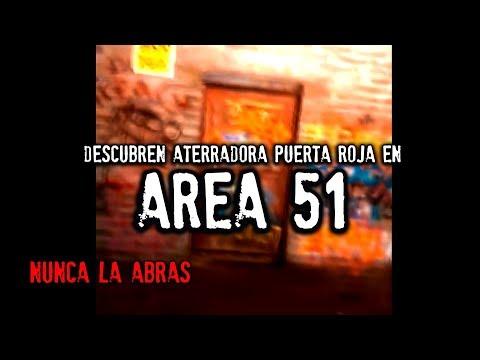 Descubren inquietante puerta roja en AREA 51   NUNCA LA ABRAS