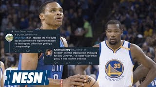 While You Were Sleeping Kevin Durant Has A Secret Twitter Account