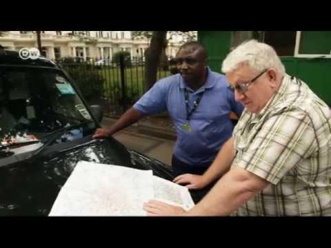 Mit dem Taxi durch London   Euromaxx - Im Taxi